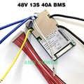 بطارية ليثيوم أيون BMS 13S 48 فولت 20A ، 30A ، 40A و 50A BMS ل 48 فولت 500 واط-2000 واط بطارية أيون الليثيوم حزمة مع وظيفة التوازن