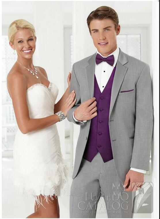 Popular Gray and Purple Tuxedo-Buy Cheap Gray and Purple Tuxedo ...