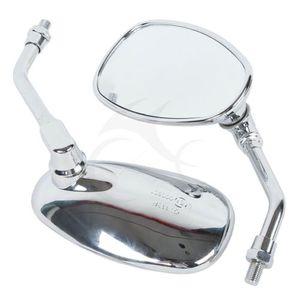 Vista Traseira da motocicleta Espelhos Retrovisores para Kawasaki VN 2000 Vulcan VN1600 VN1500 VN900 VN800 VN400 SUZUKI GSX1300BK GSR400 AN650