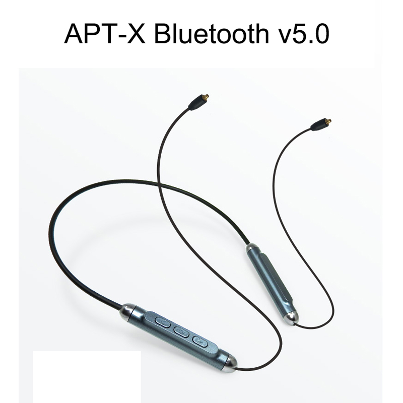 Tiandirenhe MMCX Apt X Replacement Bluetooth v5 0 Cable Waterproof Smartchip CSR8645 for Shure SE215 SE535