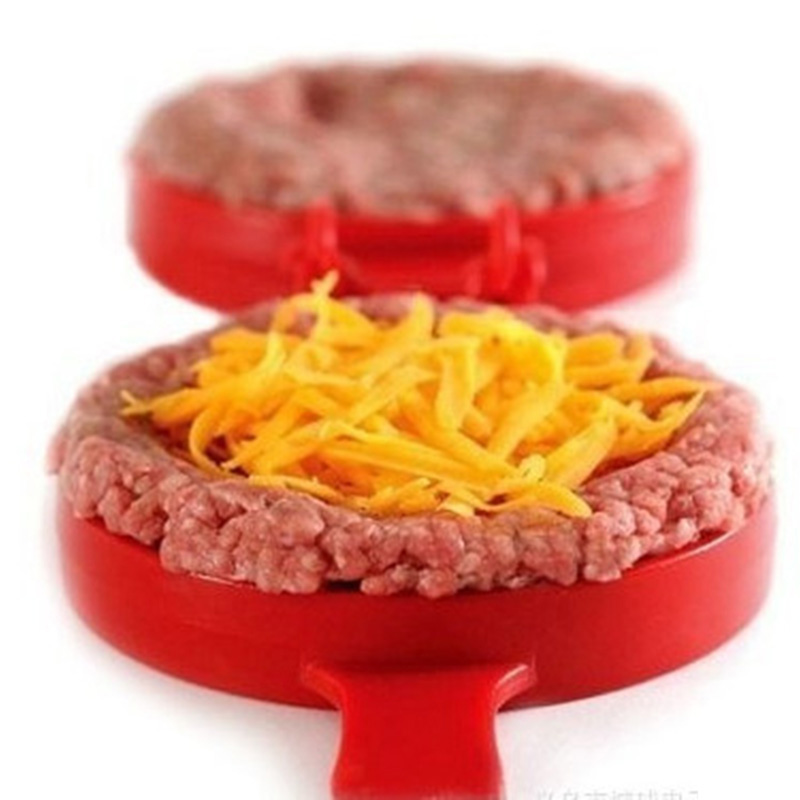 1PC-Red-Cooking-Tools-Plastic-Stuffed-Burger-Press-Hamburger-Manual-Meat-Pressing-Device-Barbecue-Household-Kitchen