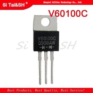 5pcs MBR60100CT TO220 MBR60100TO-220 60100CT V60100C Schottky diode 60A 100V original