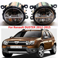 Для Renault DUSTER 2012-2015 LED противотуманные фары стайлинга Автомобилей противотуманные фары 1 КОМПЛ.