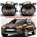 Para Renault DUSTER 2012-2015 faróis de neblina LED Car styling nevoeiro CONJUNTO da lâmpada 1