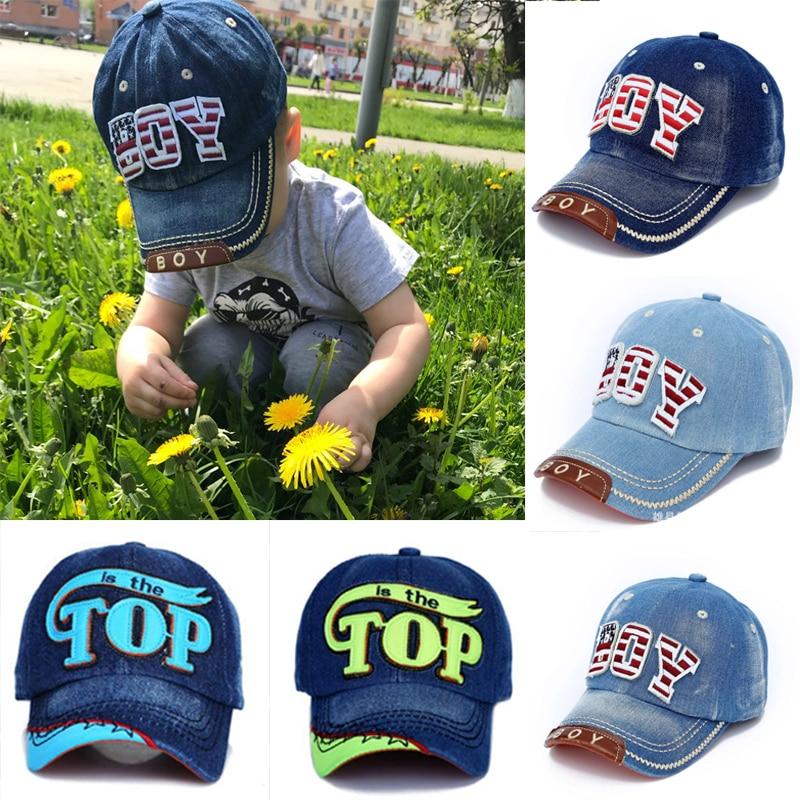 a82ca7b387482 TOP BOY Baby Baseball Caps kids Snapback Hip Hop Cap Boys Girls Summer Sun  Hats gorras