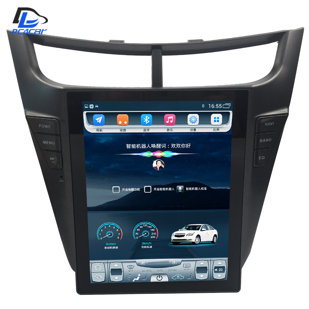 32G ROM Vertical screen android car gps multimedia video radio player in dash for Chevrolet sonic sail 2015 navigation stereo