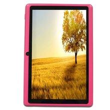 Yuntab 3 colores 7 pulgadas Andriod 4.4 T7 Tablet PC Allwinner A33 Quad Core de Doble Cámara External 3G, 512 MB + 8 GB 2200 mAh de la batería