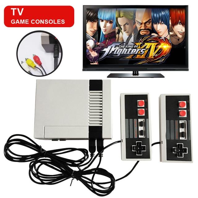 Mini TV Handheld Family Recreation Video Game Console AV Port Retro Built-in 620 Classic Games Dual Gamepad Gaming Player 3