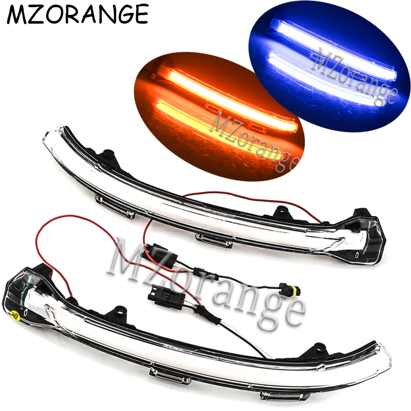 Rearview Mirror Lights For Volkswagen VW Golf 7 MK7 VII LED Flowing Rear View Dynamic Sequential Mirror Water Turn Signal Lights