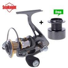 SeaKnight Carbon Fiber Super Light DR2000/3000/4000 Series 11BB 5.2:1/4.7:1 Spinning Fishing Reel + Plastic Spare Spool