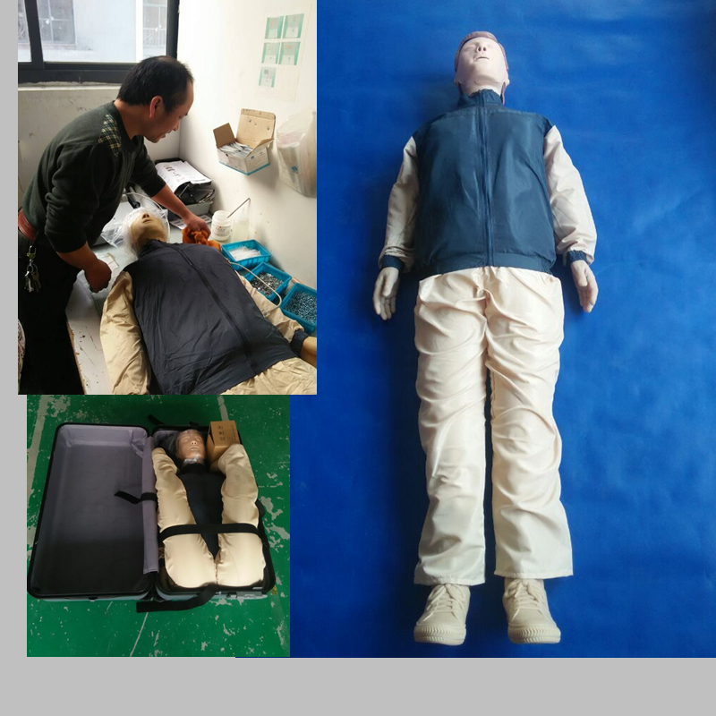 BIX-CPR480 CPR Training Manikin Advanced Automatic Computer Cardiopulmonary Resuscitation CPR Model bix hs15 2 iv lnjection training pad small mq129