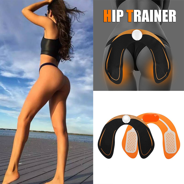 24fad8c20 EMS Intelligent Hip Trainer Buttocks Lifting Waist Body Machine  Rechargeable Massage Relaxtion Muscle Machine Trainer
