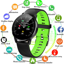 цены на LIGE Men Smart Bracelet Sphygmomanometer Sport Fitness Tracker Watch For Android ios Waterproof wristband Pulseira inteligente  в интернет-магазинах