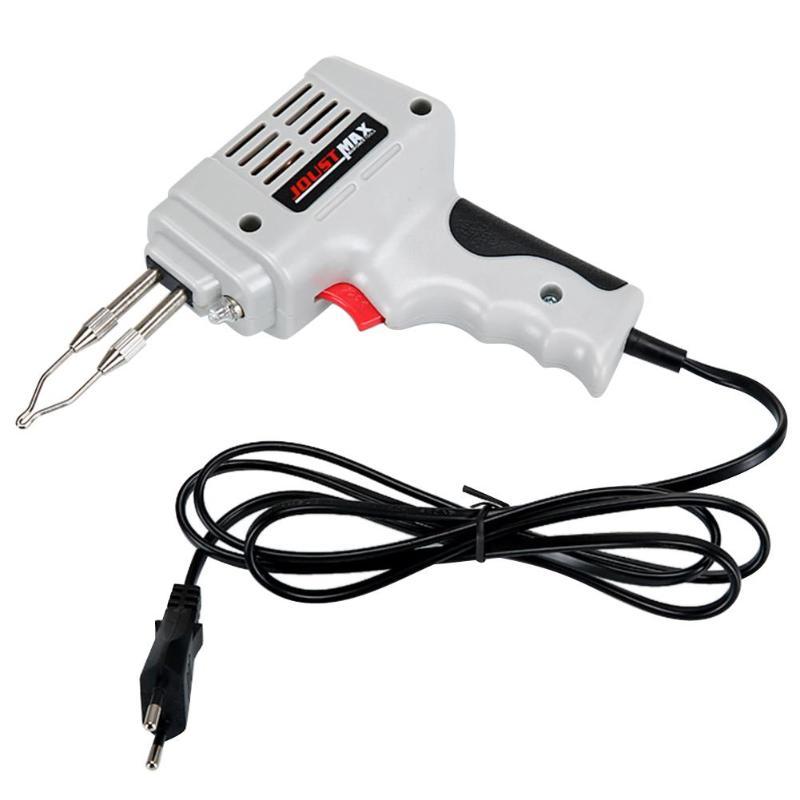 220-240V 100W EU Automatic Send Tin Gun Electric Soldering Iron Rework Station Desoldering Pump Welding Tool Solder Wire