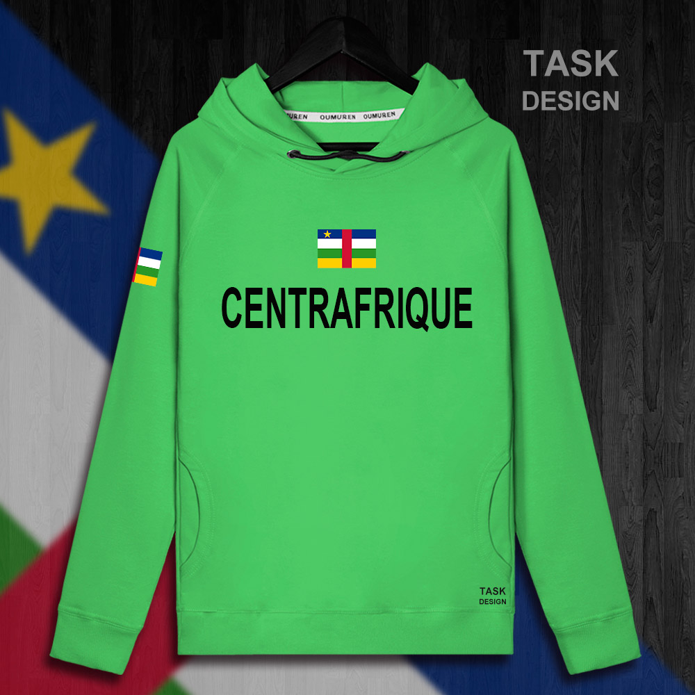 Central African Republic Centrafrique CAF CA mens hoodie pullovers hoodies men sweatshirt new streetwear clothing Sportswear 01