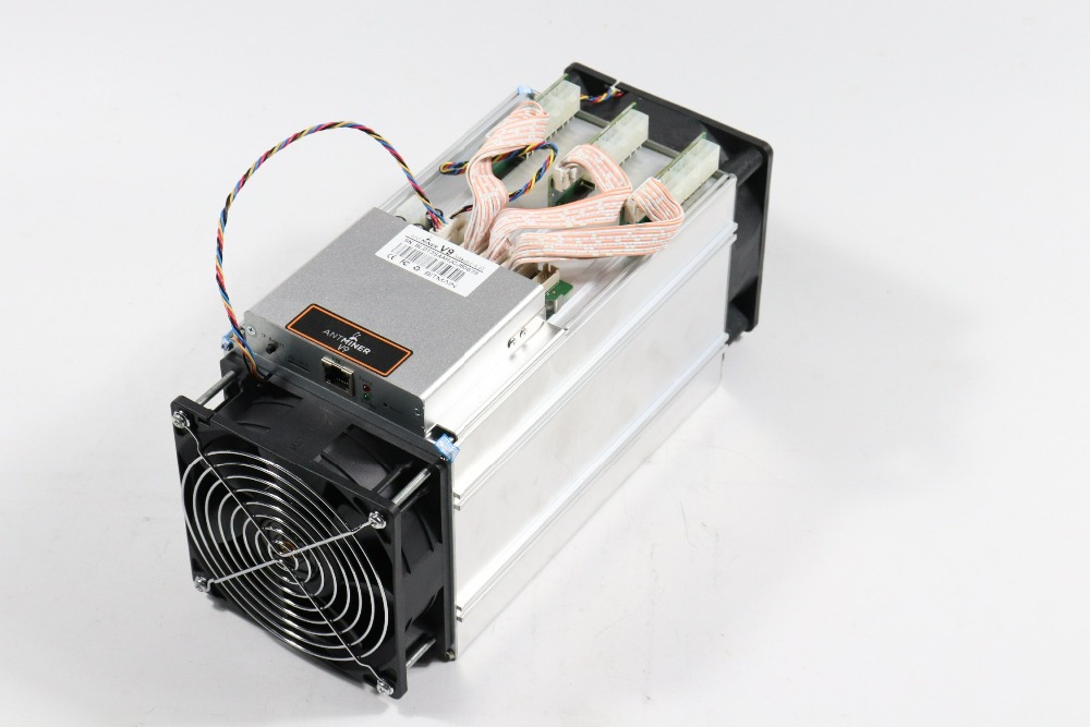 New AntMiner V9 4TH/S Bitcoin Asic Miner BTC BCH Miner Without PSU Economic Than S9 T9 Z9 Mini DR3 T15 S15 WhatsMiner M3 M10