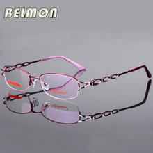 Eyeglasses Frame Women Computer Optical Clear Glasses Myopia Prescription Spectacle For Women's Transparent Lens Female RS043