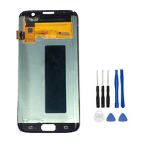 100 Tested Original LCD For SAMSUNG GALAXY S7 Edge G935 G935F Display Touch Screen Digitizer Assembly