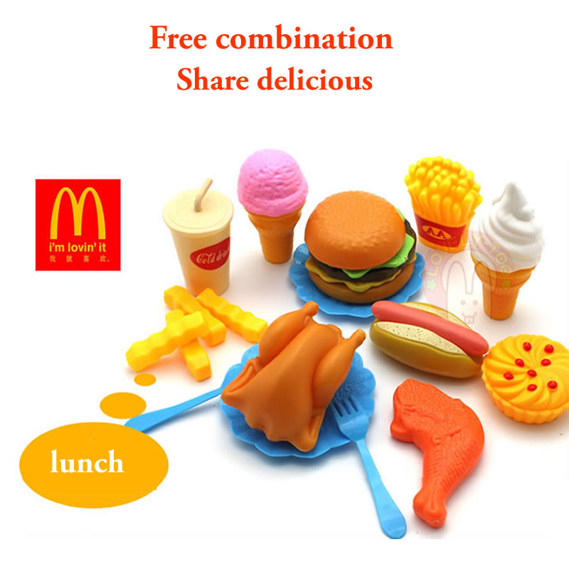 34pcs Childrens Kitchen Toys Cutting Fruit Vegetable Plastic Drink Food Kit Kat Pretend Play Early Education Toy For kids