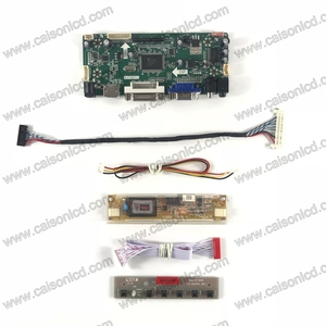 NT68676 płyta kontrolera LCD z HDMI DVI VGA AUDIO dla 18.5 cal V185B1-L03 M185XW01 V8 1366X768 z 2 CCFL LCD naprawa panelu