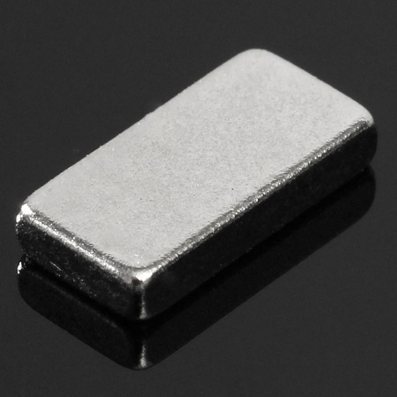60pcs Cuboid N52 NdFeB Magnetic Materials Block Rare Earth Neodymium Permanent Super Strong Magnets 10 x 5 x 2mm Half Price