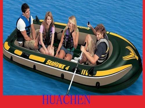 5516 интекс НД bark canoe матрас