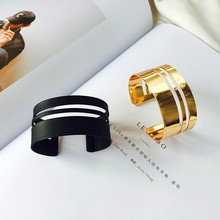 European and American fashion nappa multilayer geometric female joker adorn article bangle bracelet PFF88