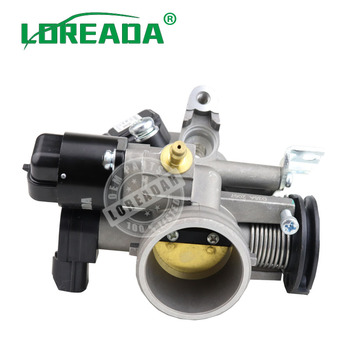 LOREADA Mechanical Throttle Body For CHERY QQ UAES 1.0L/1.3L Engine Wuling Motors WULING 6360 HAFEI 1.0L 1.3L 462 Delphi System