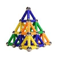 PlayMaty Magnetic Building Blocks Toys 100 Piece Similar Building Kit Toys Playing Magnetic Toy Bricks Minifigures