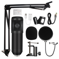 microfone bm 800 Studio Microphone Professional microfone bm800 Condenser Sound Recording Microphone For computer