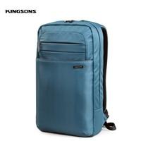 Kingsons 15 inch Unisex Laptop Backpack Man Daily Rucksack Travel Bag School Bags Women Bagpack Mochila Feminina
