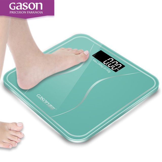 Best Selling GASON A2s180kg Night Vision Bathroom Household Weight Scale Smart Body Weighing Scale LCD Digital FLOOR SCALE lb kg