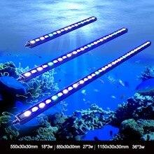 1 шт. 54 Вт/81 Вт/108 Вт Водонепроницаемый IP65 Водонепроницаемый светодиодный светильник для аквариума для роста коралловых рифов светильник для аквариума в США