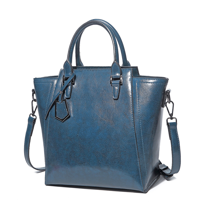 lkprbd 2018 popular fashion 100% leather women's bags, new shoulder bag, lady's handbag slanting big capacity cowboy bag. lkprbd new handbag fashion 100