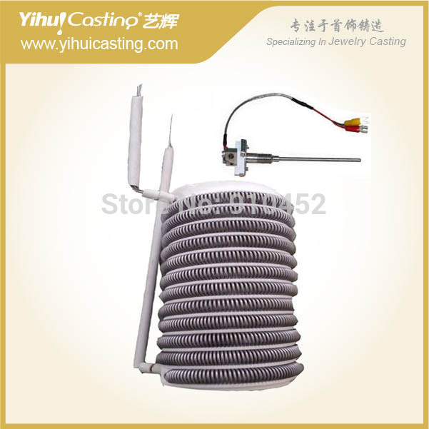 220V Version 3 Heating Chamber With Coil For Melting Furnace, And Thermocouple For Mini Furnace.