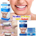 Grinigh Ultra White Dental Teeth Whitening Teeth Strip Gel 28 Whitestrips Professional Effect at Home Tooth Whitener