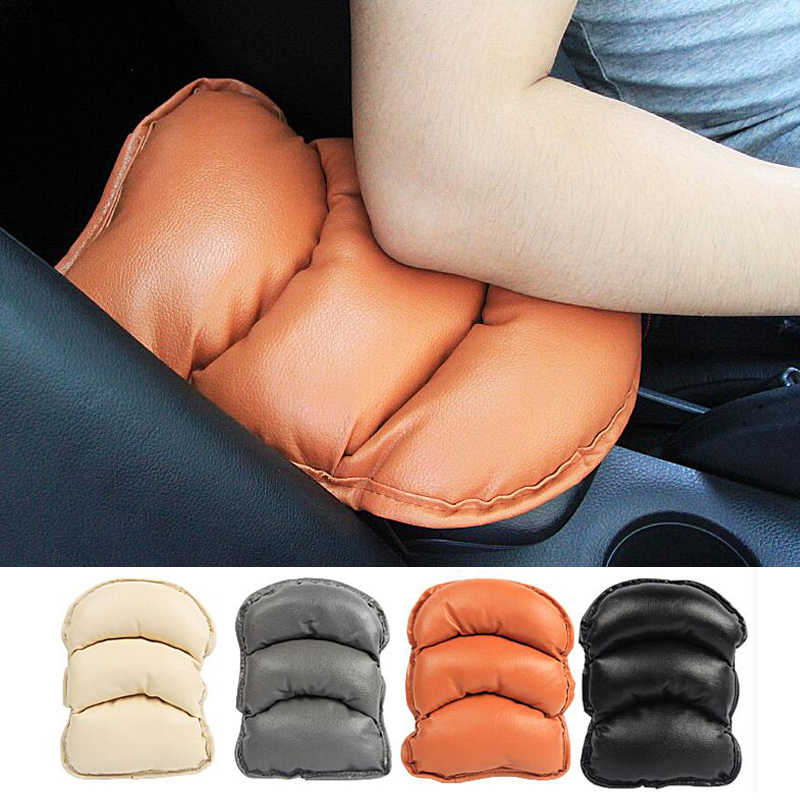 Universal Car Armrests Cover Pad Vehicle Center Console Arm Rest Seat Pad Central Armrest Cushion