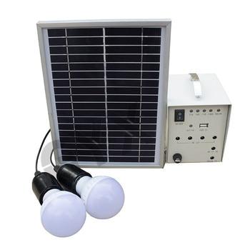 Home Solar Outdoor Lighting Supply Solar Panel Solar Light 12V40W Portable Solar Generator 1