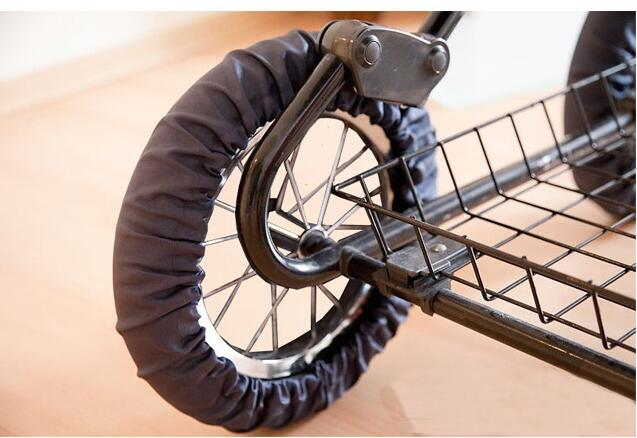 2 Pcs Stroller Accessories Wheels Covers for 12 29 CM