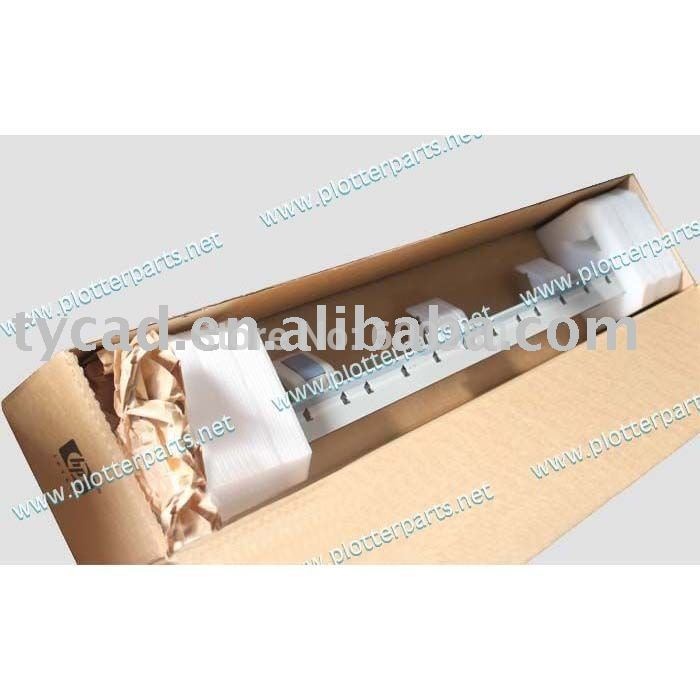 Overdrive roller assembly (D-size) for HP Designjet 430 450 455CA 488CA 820 24inch A1 used Plotter Part C4713-60115 lt46729fx juc7 820 00025066 t460hw03 used disassemble