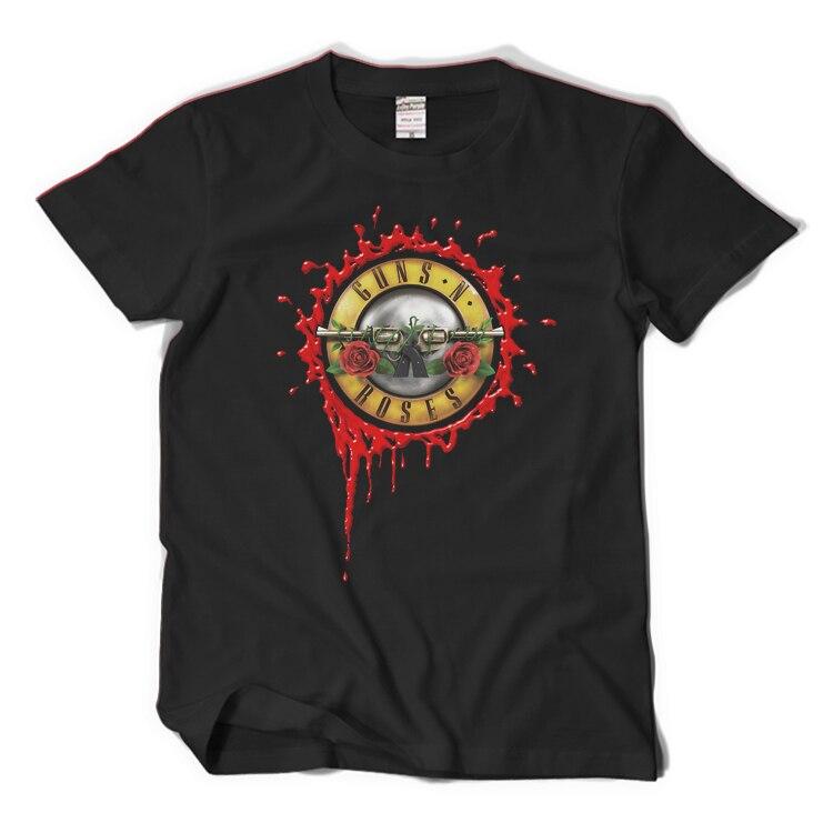 Mens Guns N Roses Slash Summer T shirts Rock Singers Cotton T-shirt GNR 3D Printed Tee Tops