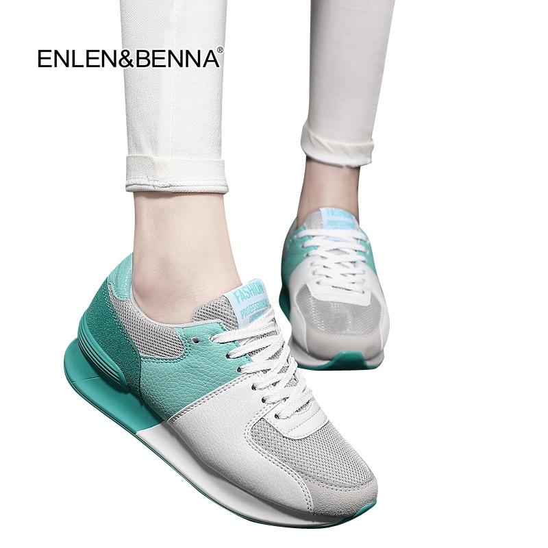 חדש קל לנשום נעליים אישה מקרית נעליים - נעליים לנשים