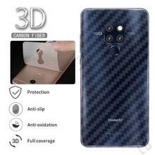 3D Carbon Fiber Soft Screen Protector Film Sticker Huawei Mate 20 Pro P20 Lite