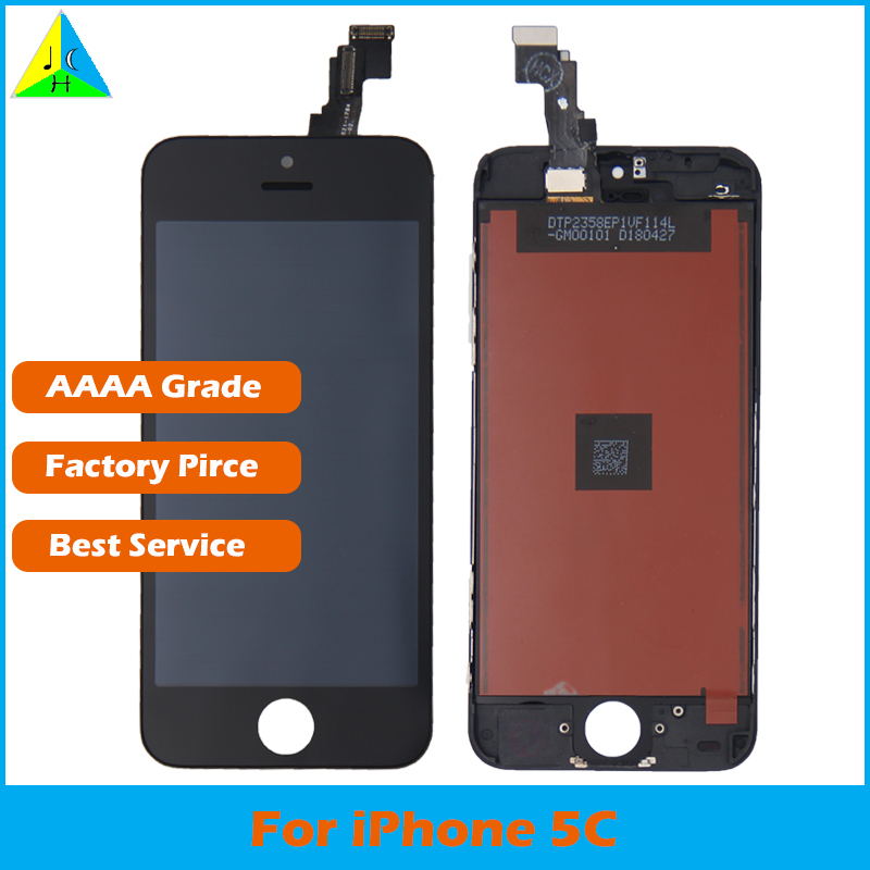 AAAA Grade For iPhone 5c LCD With 3D Force Touch Screen Digitizer Assembly For iPhone 5c Display No Dead Pixel(China)