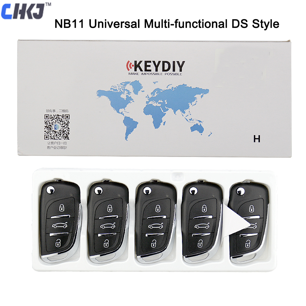 CHKJ KEYDIY Original NB11 Universal Multi-functional DS Style KD900/KD-X2 Key Programmer Remote Suitable For All B And NB Series