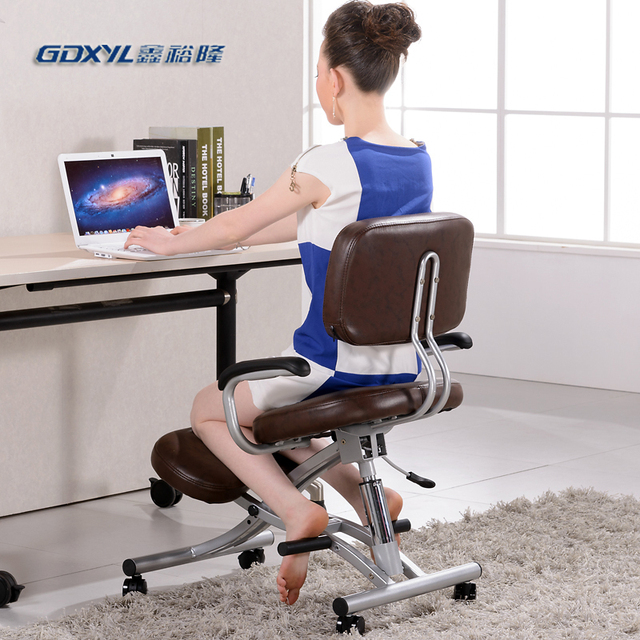 Ergonomic Kneeling Chair. Chair On Casters Ergonomic Kneeling ...