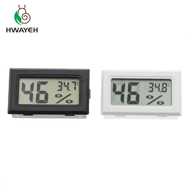 Mini Digital LCD Indoor Convenient Temperature Sensor Humidity Meter Thermometer Hygrometer Gauge(China)