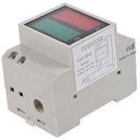 CNIM Chaude Din-Rail AC 110 V/220 V Numérique Voltmètre Ampèremètre Rouge Volt Vert Ampèremètre LED affichage