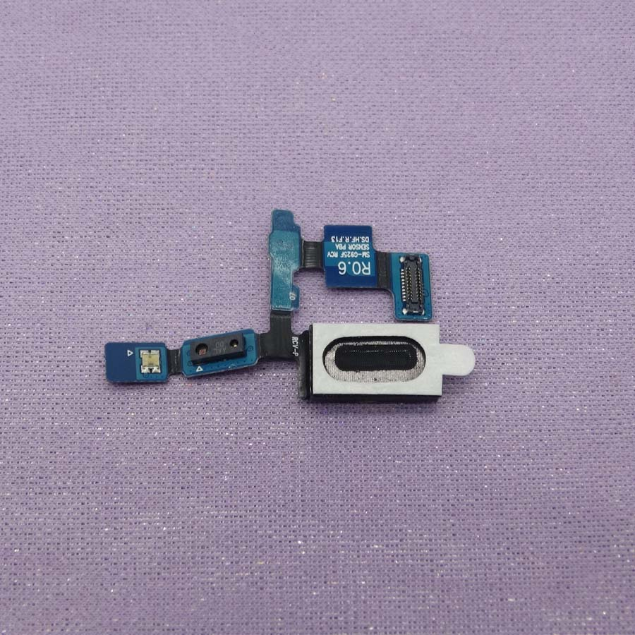 Ear Speaker Earpiece Earphone Flex Cable Ribbon Replacement Parts For Samsung Galaxy S6 Edge G925F