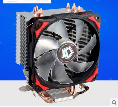 ID-Cooling SE-214 4pin PWM 120mm CPU cooler fan 4 heatpipe cooling for LGA1151 775 115x FM2+ FM2 FM1 AM3+ CPU Radiator akasa cooling fan 120mm pc cpu cooler 4pin pwm 12v cooling fans 4 copper heatpipe radiator for intel lga775 1136 for amd am2